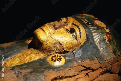 Fotobehang Egypte Egypt sarcophagus