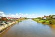 Blick auf die Weser bei Minden