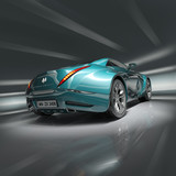 Fototapety Sports car. Original car design.