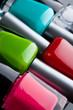 Quadro Nail polish bottles close up