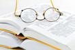 Bücher und Brille