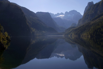 Dachstein mountains and Lale Gosausee