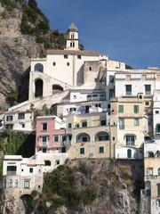 Häuser in Amalfi