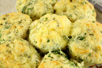 Cheese And Spinach Scones
