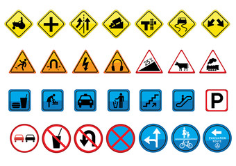 road signs © psanlim