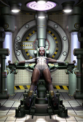 android robot woman