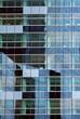Reflets dans un immeuble de la Défense