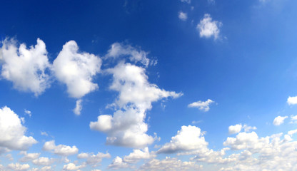 Perfect sky with clouds