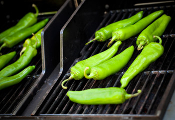 Produce - Summer _ Roasting Hatch Green Chile