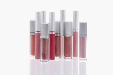 Studio shot of lip gloss
