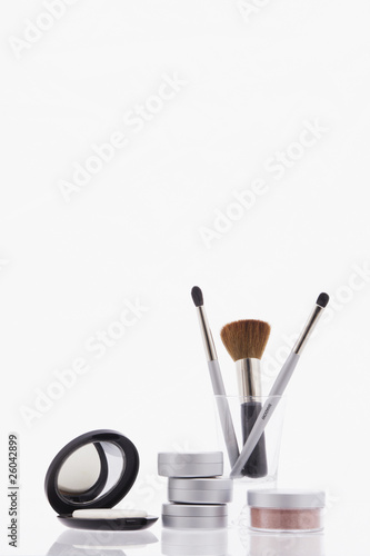 Studio shot of assorted makeup