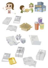 ゴミ分別イラスト01