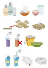 ゴミ分別イラスト03