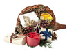 Cornucopia with gifts