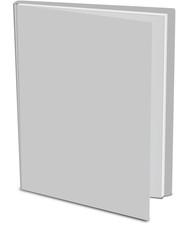 open book isolé sur un fond blanc