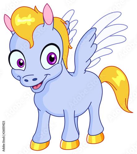 Fotobehang Pony Pegasus