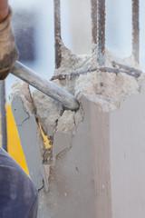Punta del martello pneumatico
