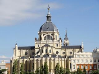 Abside de la catedral de la Almudena Madrid