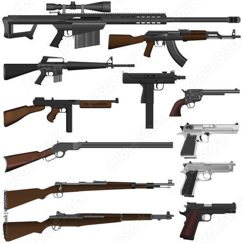 pistolety wektorowe
