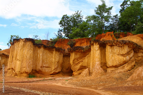 Famous soil erosion