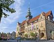 Das Rathaus in Bückeburg