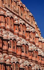India. Rajasthan, Jaipur, Palace of Winds (Hawa Mahal)