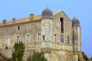 france; 85; jard sur mer : abbaye de lieu-dieu