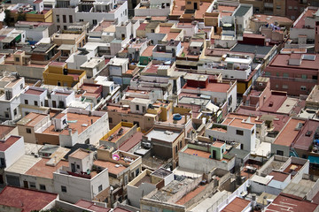 Roofs of Almeria