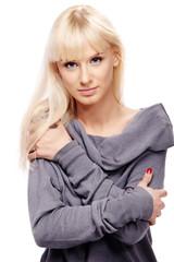 Blond lady