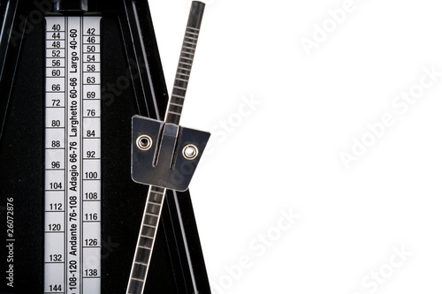 Close-Up of a Metronome