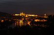 Prague by Night, night Prague Castle, Hradcany