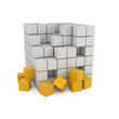 Abstract 3D Blocks