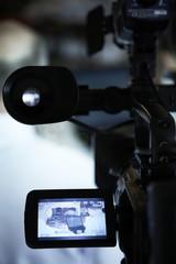 Working cameraman