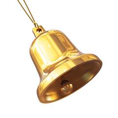 Ringing golden bell