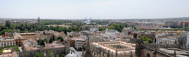 panoramic of seville