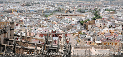 partial view of Seville