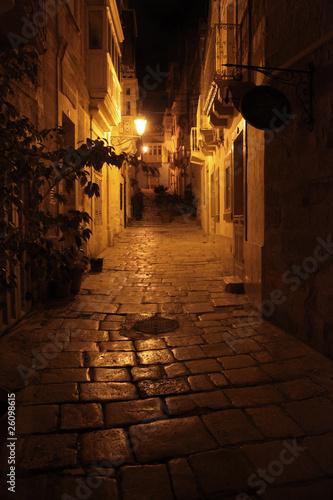 Attractive streets of Malta