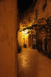 Maltese street in the evening