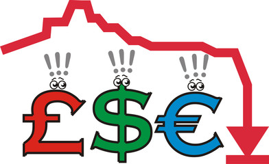 recession (economic crisis, money fear)