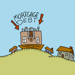Upside Down Mortgage Debt