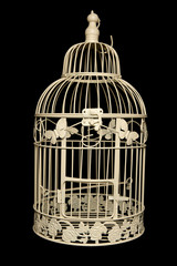 Sahbby chic bird cage
