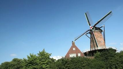Moulin à vent néerlandais