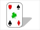 Glückskarte 3D