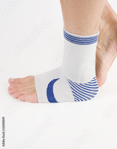 medical bandage, foot support