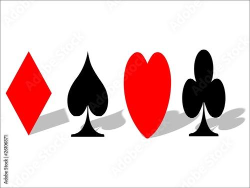 Karo Pick Herz Kreuz