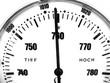 Barometer Anzeige - Luftdruck