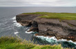 Irish dramatic coastline