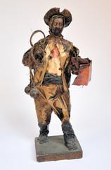 Argentina gauchos paper puppet collection