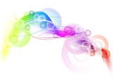Fototapety rainbow circle