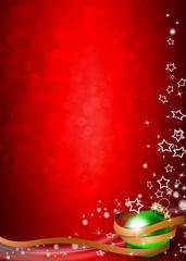 weihnachtlicher Hintergrund modern Hochformat rot